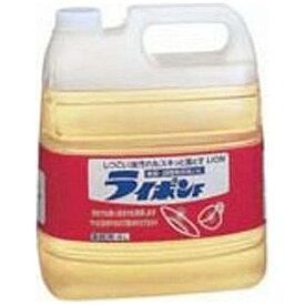 ライオン ライオン ライポンF 液体 4L〔住居用洗剤〕