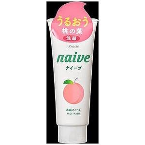 クラシエ薬品 「ナイーブ」洗顔フォーム(桃の葉エキス配合)(130g) ナイーブSFP(130