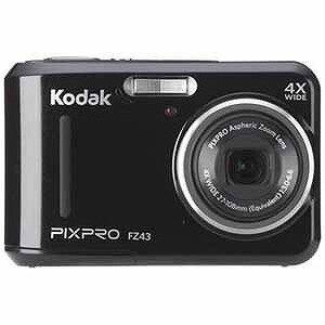 コダック コンパクトデジタルカメラKodak PIXPRO FZ43BK (ブラック)(送料無料)