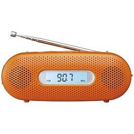 パナソニック 「ワイドFM対応」FM/AM 手回し充電ラジオ RF−TJ20−D(オレンジ)