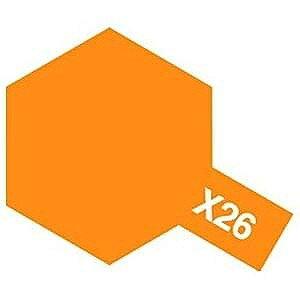 タミヤカラー アクリルミニ 光沢 X26 クリヤーオレンジ 10ml 81526