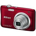 ニコン コンパクトデジタルカメラ COOLPIX(クールピクス) A100 (レッド))(送料無料)