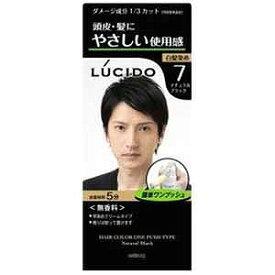 マンダム 「LUCIDO(ルシード)」ワンプッシュケアカラー ナチュラルブラック LCケアカラーNブラック(50