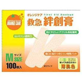 オレンジケアプロダクツ 「オレンジケア」絆創膏 Mサイズ「ばんそうこう」 オレンジケアバンソウコウMサイズ