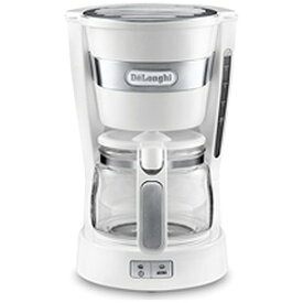 デロンギ ドリップコーヒーメーカー (5杯分) ICM14011J‐W/ホワイト