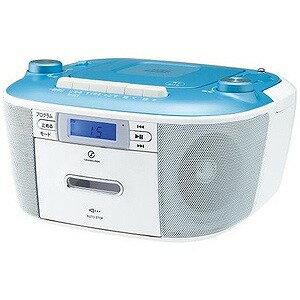 小泉成器 CDステレオラジカセ(ブルー)  SAD‐4935‐A