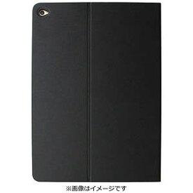 オウルテック iPad Air2専用 ヘアライン フラップケース ブラック OWL‐CVIPA204‐BK