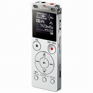 ソニー 「ワイドFM対応」リニアPCMレコーダー「4GB」(シルバー)  ICD‐UX560FSC(送料無料)
