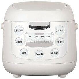 イーバランス コンパクト炊飯ジャー ROOMMATE[3.5合] EB‐RM6200K/ホワイト系