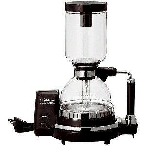 ツインバード サイフォン式コーヒーメーカー(4杯) CM‐D854BR (ブラウン)