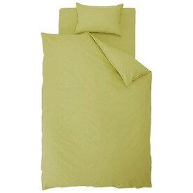 生毛工房(うもうこうぼう) 花粉レリーズ加工敷ふとんカバー ダブルサイズ(綿100%/グリーン) HI‐K2‐SD GR(145