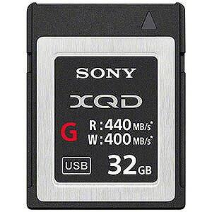 ソニー 32GB XQDメモリーカード(Gシリーズ) QD‐G32E(送料無料)
