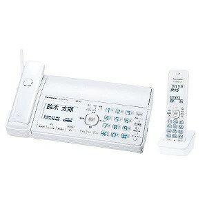 パナソニック 「子機1台」デジタルコードレス普通紙FAX 「おたっくす」 KX‐PZ500DL‐W (ホワイト)(送料無料)