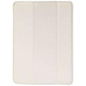 オウルテック iPad mini 4用2WAY スタンド機能付き フラップケース ホワイト OWL‐CVIPM402‐WH