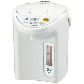 タイガー TIGER 電気ポット [2.2L/電動式] PDR‐G221‐W (ホワイト)