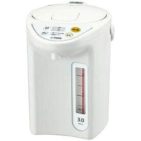 タイガー TIGER 電気ポット [3.0L/電動式] PDR‐G301‐W (ホワイト)