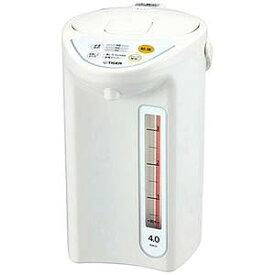 タイガー TIGER 電気ポット [4.0L/電動式] PDR‐G401‐W (ホワイト)