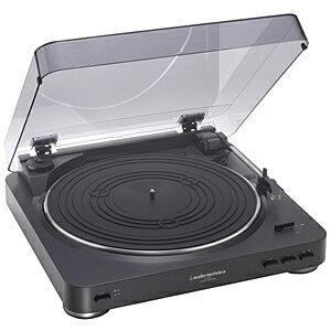 オーディオテクニカ ステレオターンテーブルシステム AT‐PL300(BK)(ブラック)(送料無料)
