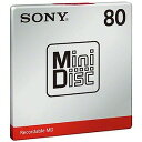 ソニー SONY ミニディスク 80分 1枚 MDW80T