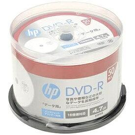 HP 1〜16倍速対応 データ用DVD−Rメディア (4.7GB・50枚) DR47CHPW50PA