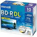 マクセル 録画用 BD−R DL 1−4倍速 50GB 10枚「インクジェットプリンタ対応」 BRV50WPE.10S