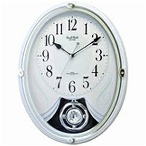リズム時計工業 電波からくり時計「スモールワールドリリィ」 4MN528RH03