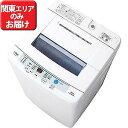 AQUA 全自動洗濯機 6.0kg 「AQUA」 AQW‐S60E‐W (ホワイト)(標準設置無料)