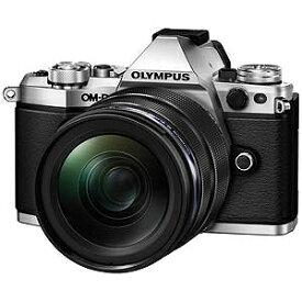 オリンパス ミラーレス一眼カメラ OM−D E−M5 Mark II シルバー(12−40mm F2.8 レンズキット)