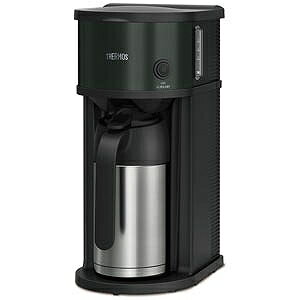 サーモス 真空断熱ポット コーヒーメーカー(0.63L) ECF−701−BK (ブラック)(送料無料)