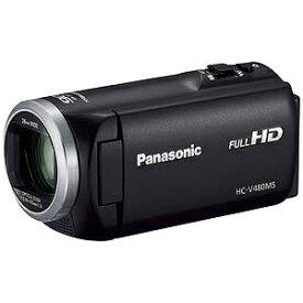 パナソニック SD対応 32GBメモリー内蔵フルハイビジョンビデオカメラ HC−V480MS−K (ブラック)