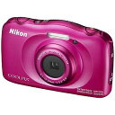 ニコン コンパクトデジタルカメラ COOLPIX(クールピクス) W100(ピンク)(送料無料)