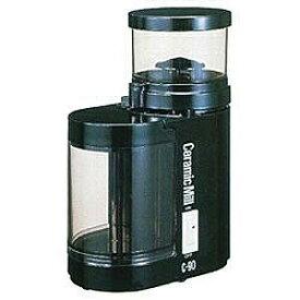 カリタ 電動コーヒーミル「セラミックミル」(ブラック) C‐90
