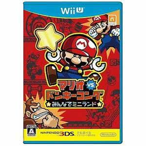 任天堂 Wii Uゲームソフト マリオvs.ドンキーコング みんなでミニランド