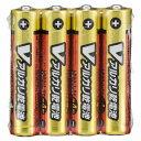 オーム電機 単4形 Vアルカリ乾電池 4本入 LR03/S4P