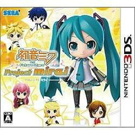 セガゲームス ニンテンドー3DSソフト 初音ミク and Future Stars Project mirai 通常版