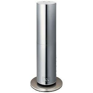 ドウシシャ mood ハイブリッド式加湿器 クレベリンLED搭載 タワー型 DHBK216CL−SI(送料無料)