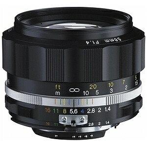 カールツァイス 交換レンズ NOKTON 58mm F1.4 SL (IIS(ブラックリム)(CPU付きニコンAi−sマウント)【ニコンFマウント】(送料無料)