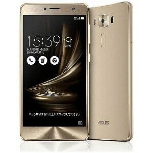 ASUS ZenFone3 Deluxe Series 5.5型SIMフリースマートフォン ZS550KL−GD64S4 (ゴールド)