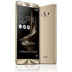 ASUS ZenFone3 Deluxe Series 5.7型SIMフリースマートフォン ZS570KL−GD256S6 (ゴールド)