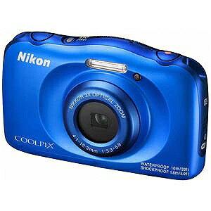 ニコン コンパクトデジタルカメラ COOLPIX(クールピクス) W100 (ブルー)(送料無料)