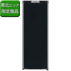 三菱 1ドア冷凍庫(144L・右開き) MF−U14B−B (サファイヤブラック)(標準設置無料)