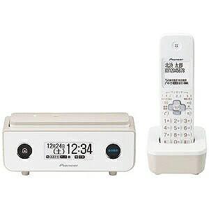 パイオニア (子機1台)デジタルコードレス留守番電話機 TF−FD35W−TY (マロン)(送料無料)
