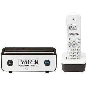 パイオニア (子機1台)デジタルコードレス留守番電話機 TF−FD35W−BR (ビターブラウン)(送料無料)