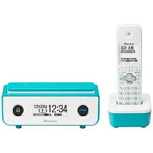 パイオニア (子機1台)デジタルコードレス留守番電話機 TF−FD35W−L (ターコイズブルー)(送料無料)