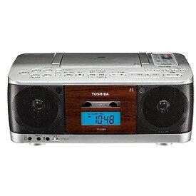 東芝 CDラジカセ(ラジオ+CD+カセットテープ) TY−CDK9(S)シルバー
