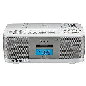 東芝 CDラジカセ(ラジオ+CD+カセットテープ) TY−CDK9(W)ホワイト(送料無料)