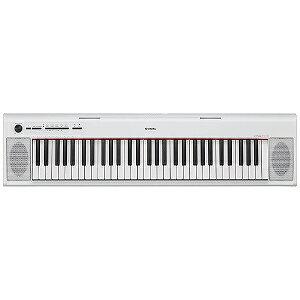 YAMAHA 電子キーボード piaggero(ピアジェーロ)(61鍵盤/ホワイト) NP‐12WH