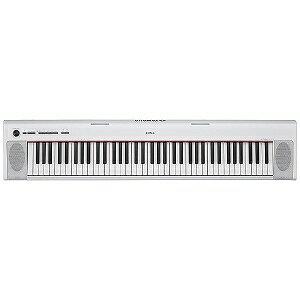YAMAHA 電子キーボード piaggero(ピアジェーロ) NP‐32WH(76鍵盤/ホワイト)(送料無料)