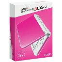 任天堂 New ニンテンドー3DS LL 3DS LL (ピンクホワイト)(送料無料)
