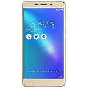 ASUS Zenfone 3 Laser  Android 6.0.1・5.5型ワイド ZC551KLGD32S4(ゴールド)(送料無料)